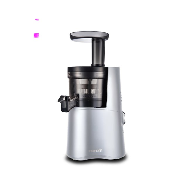 Hurom HA-2600 Cold Pressed Slow Fruit Juicer Classic Series - Matte Silver - 0