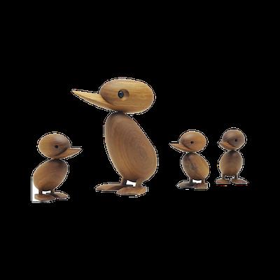 Clarise the Duckling - Teak Wood Sculpture (Medium) - Image 2