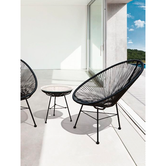 Acapulco - Acapulco Chair - Black