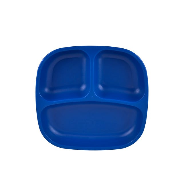 """Re-Play 7"""" Divided Plate - Navy Blue - 0"""