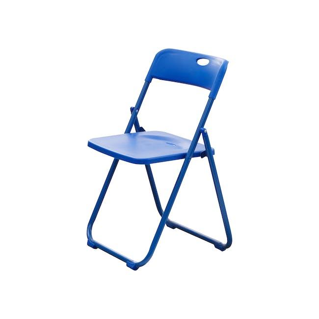 Nixon Folding Chair - Blue - 0