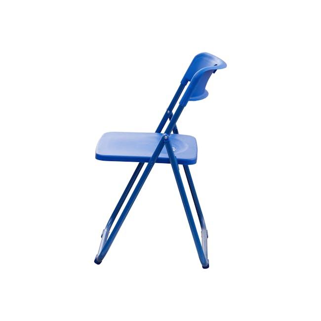 Nixon Folding Chair - Blue - 2