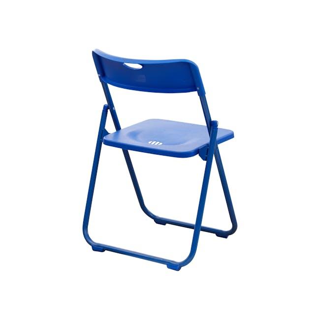 Nixon Folding Chair - Blue - 3