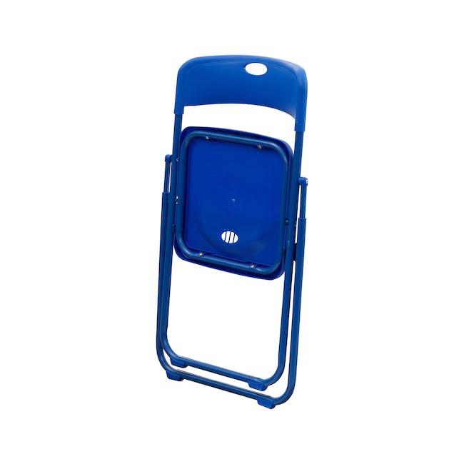 Nixon Folding Chair - Blue - 4
