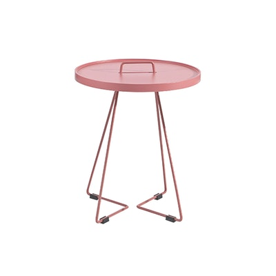 Avery Side Table - Antique Pink - Image 1