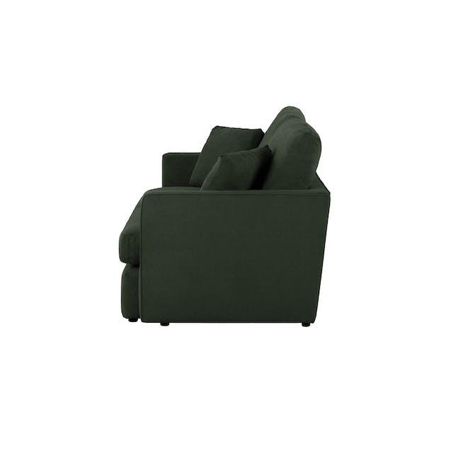 Ashley 3 Seater Lounge Sofa - Olive - 4