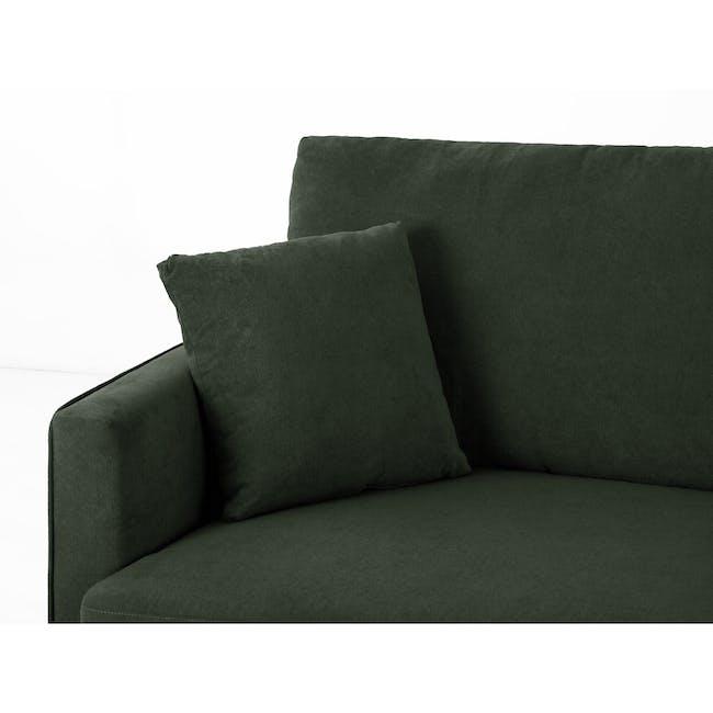Ashley 3 Seater Lounge Sofa - Olive - 6