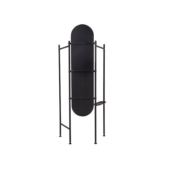 Vala Floor Mirror - Black - 4