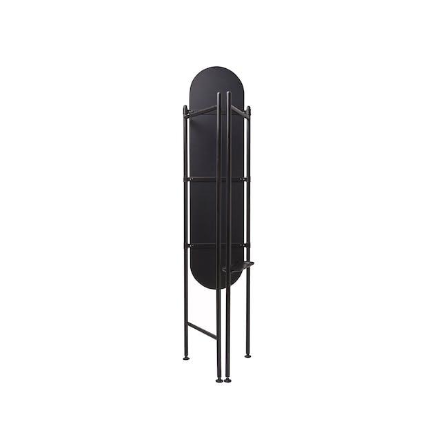 Vala Floor Mirror - Black - 5