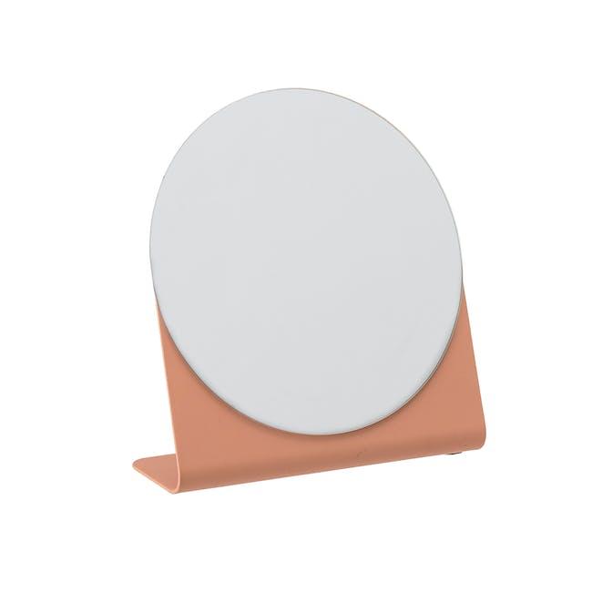 Laura Tabletop Mirror - Orange - 0