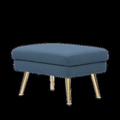 Arden Ottoman - Blue - Image 2