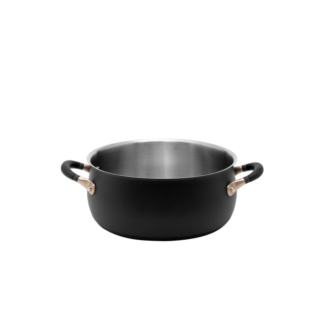 Meyer Accent Series Stainless Steel Casserole with Lid - 24cm 4.7L - 2