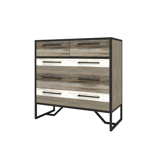 Xavier by HipVan - Xavier 5 Drawer Chest 1m