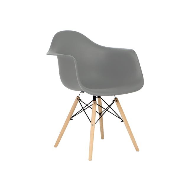 (As-is) DAW Chair - Natural, Grey - 1 - 0