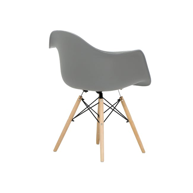 (As-is) DAW Chair - Natural, Grey - 1 - 9