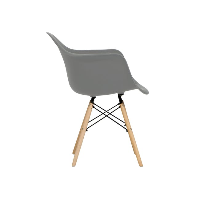 (As-is) DAW Chair - Natural, Grey - 1 - 10
