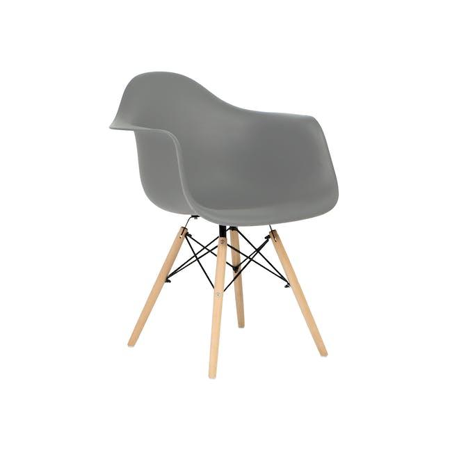 DAW Chair Replica - Natural, Grey - 0