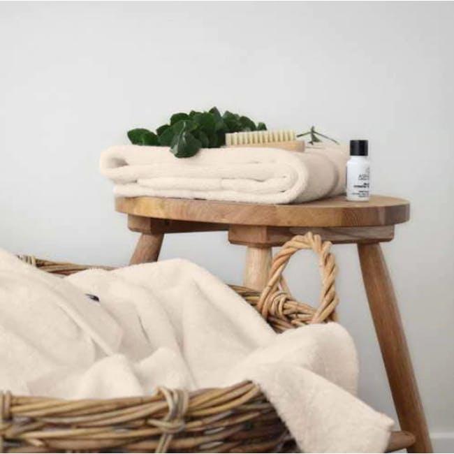 Canningvale Royal Splendour 3pc Towel Set - Angora Wheat - 1