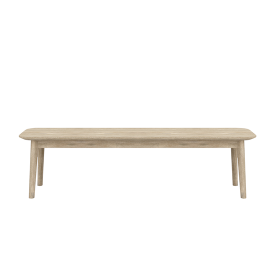 HipVan Bundles - Hendrix Dining Table 1.6m with Hendrix Bench 1.3m and 2 Hendrix Dining Chairs