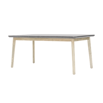 Hendrix Dining Table 1.6m with Hendrix Bench 1.3m and 2 Hendrix Dining Chairs - Image 2