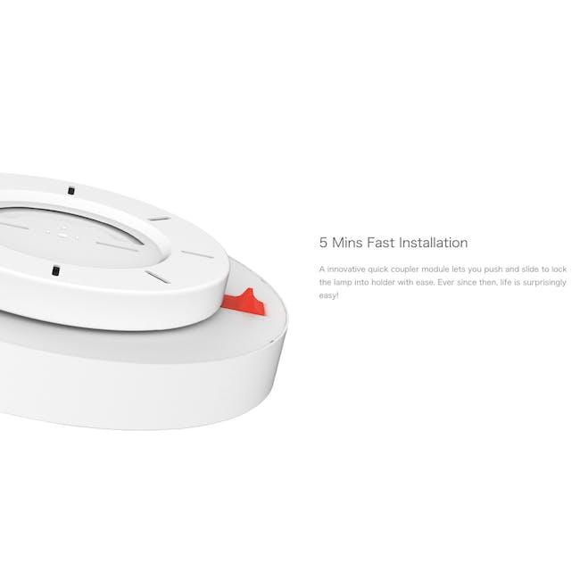 Yeelight LED Smart Ceiling Light with Remote - Cream White - 4