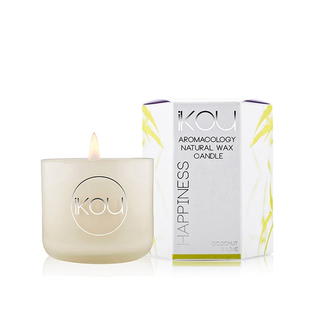 Eco-Luxury Large Candle 85g - Happiness - 0