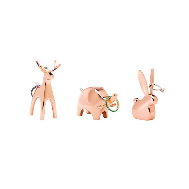 Anigram Bunny Ring Holder - Copper - 9