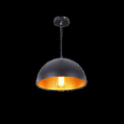 Starke Bowl Pendant - Black - Image 2