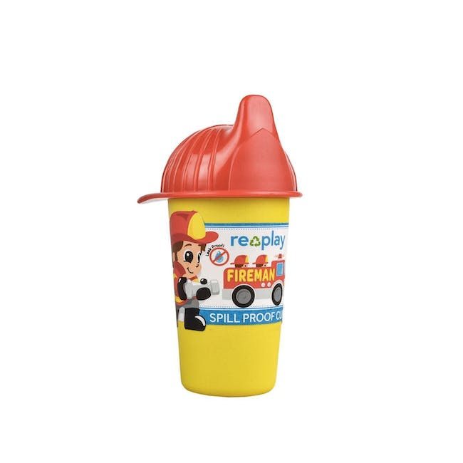 Re-Play No-Spill Sippy Cup - Fireman - 0