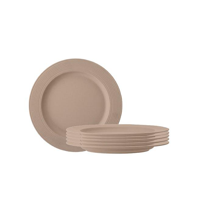 Rhea Side Plate - Brown (Set of 6) - 0