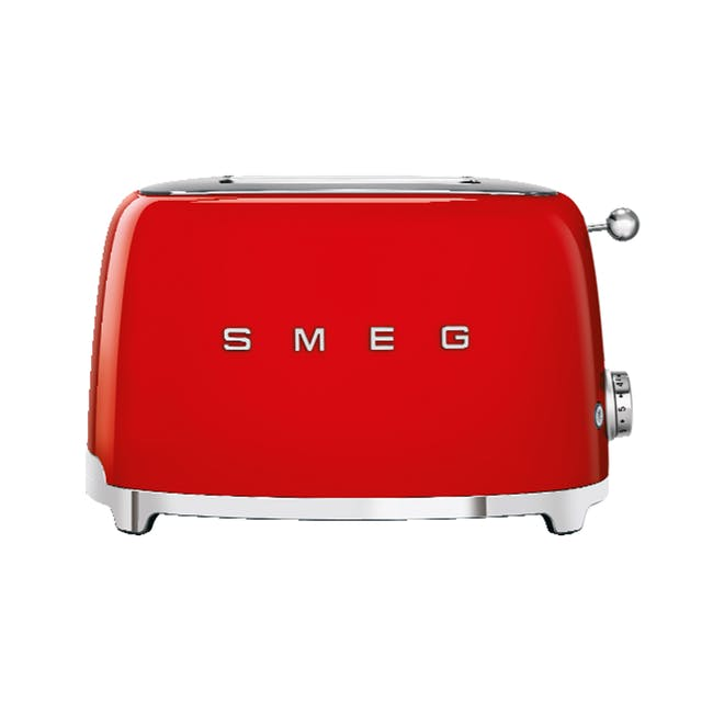 Smeg 2-Slice Toaster - Red - 0
