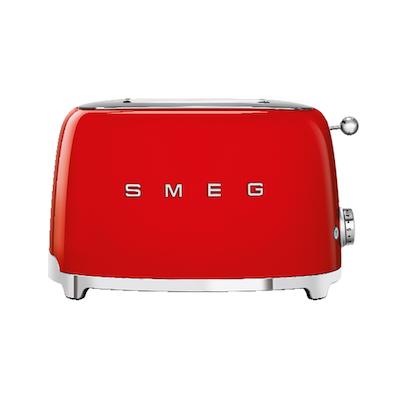 Smeg 2-Slice Toaster - Red