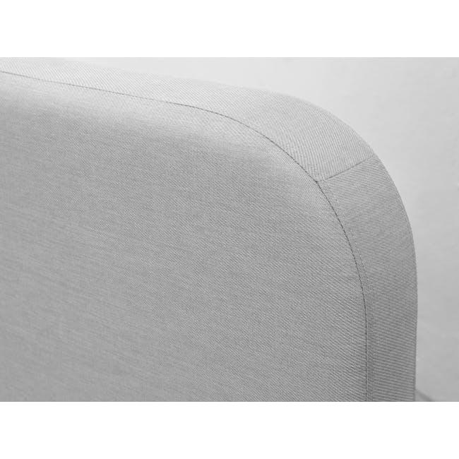 Nolan Single Storage Bed - Silver Fox - 3
