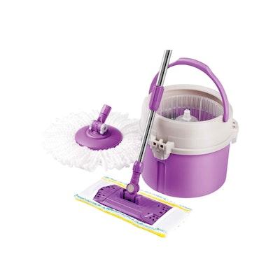 Lamart Tour Mop Set with Accessories 7L - Purple - Image 1