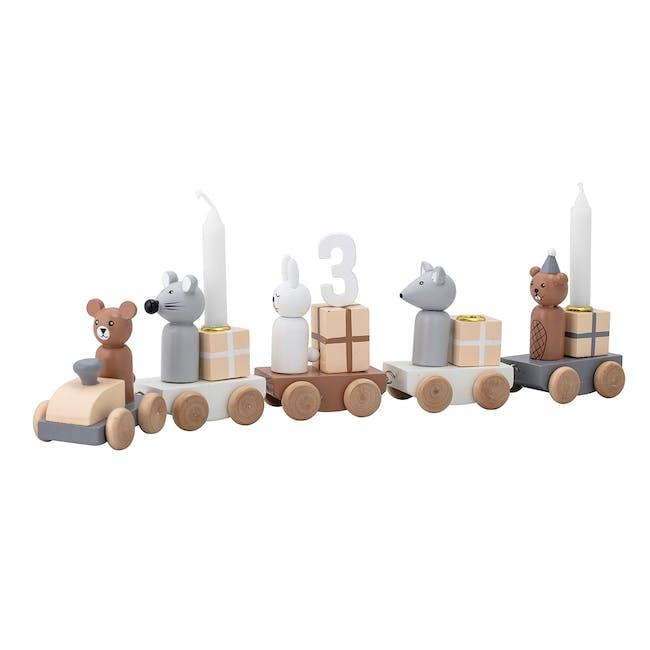 Birthday Decoration - Candle Holder Train - 0