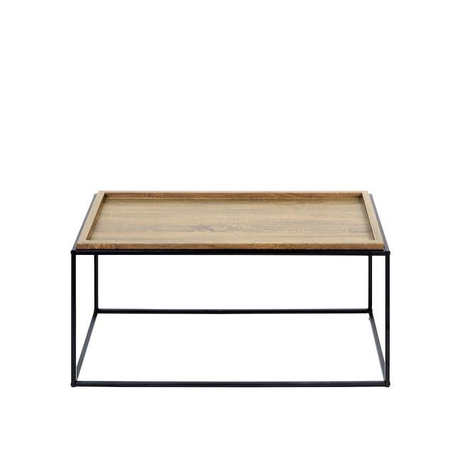 Dana Rectangle Coffee Table 1m - Oak - 2