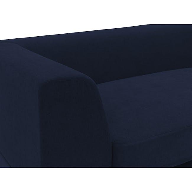 Abby L-Shaped Lounge Sofa - Navy - 2