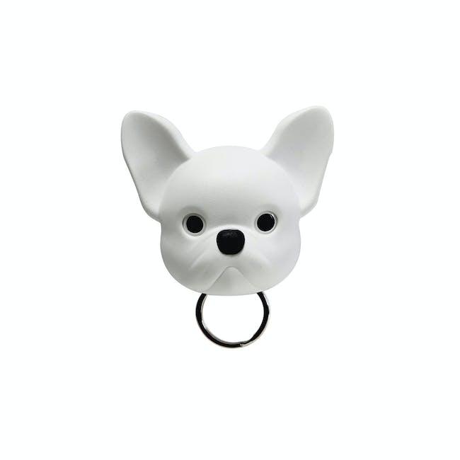 Frenchie Bulldog Key Holder - White - 0