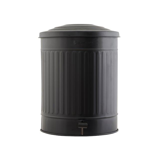 Matt Garbage Bin 49L - Matte Black - 0
