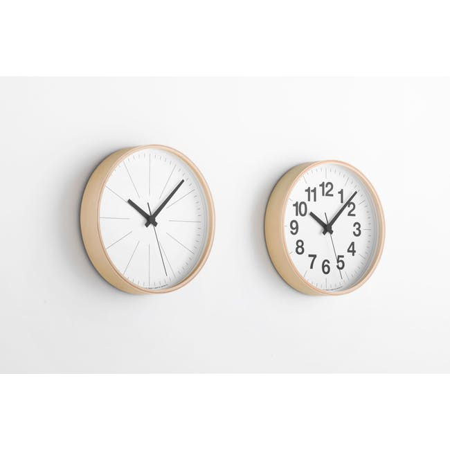Lines Clock PLY - 1