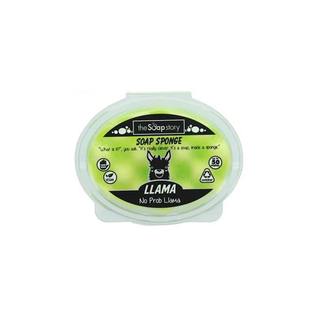 Soap Sponge 150g: Llama - 0