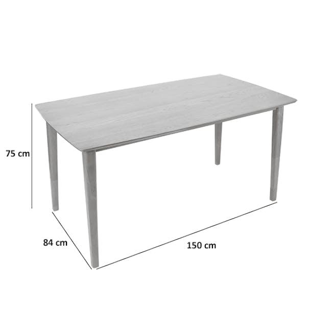 Koa Dining Table 1.5m - 7