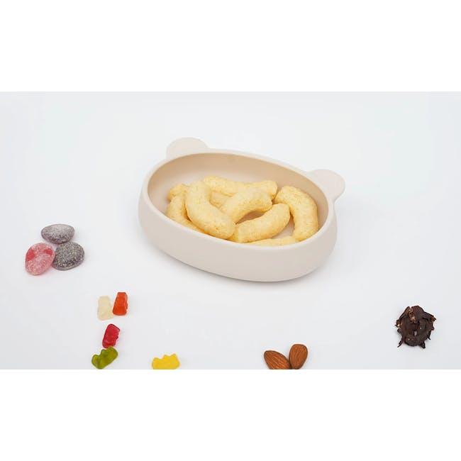 MODU'I Bear Snack Bowl 320ml - Cream - 2
