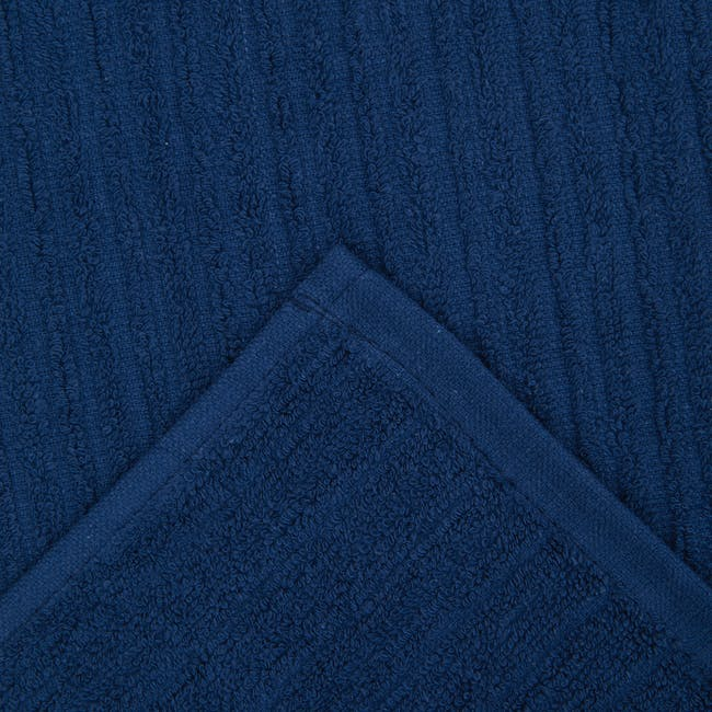 EVERYDAY Bath Sheet - Navy Blue - 1