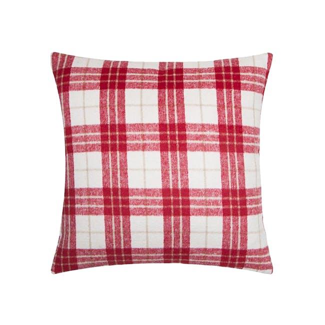 BRAXTON Cushion Cover - Red - 0