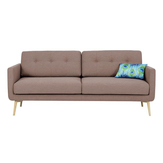 Matilda 3 Seater Sofa - Brown - 0