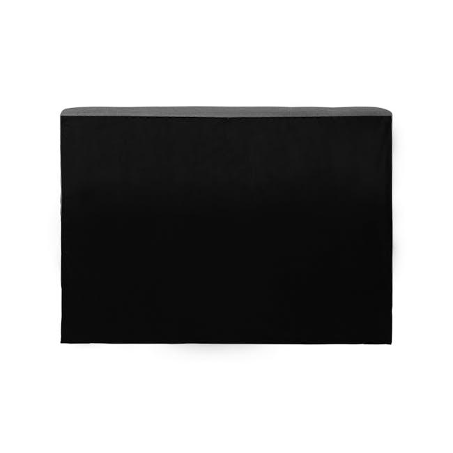 (As-is) ESSENTIALS Single Headboard Storage Bed - Grey (Fabric) - 1 - 10