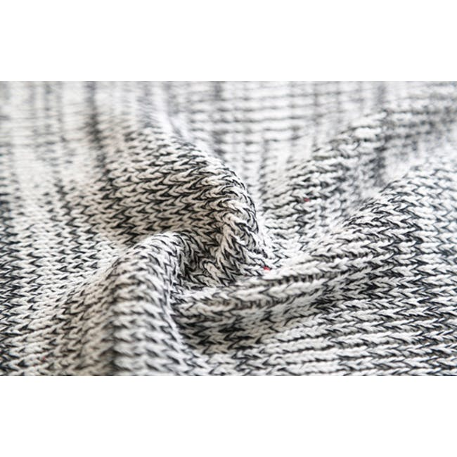 Lemuel Soft Knitted Throw - White - 1