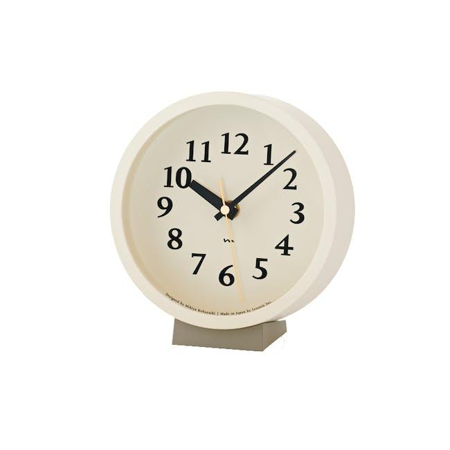 M Clock - Ivory - 0