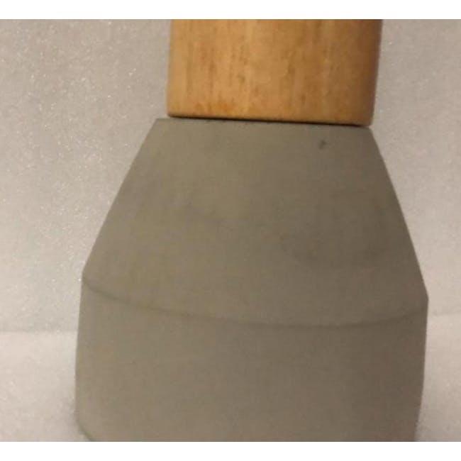(As-is) Charlie Concrete Pendant Lamp - Grey - 2 - 2